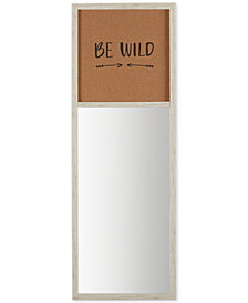 Intelligent Design Be Wild Cork Board & Mirror