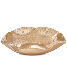 Madison Park Large Ryder Hex Bowl