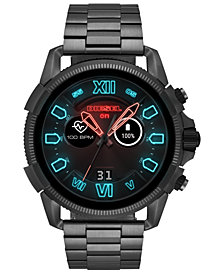 Diesel Men's Full Guard 2.5 Gunmetal Stainless Steel Bracelet Touchscreen Smart Watch 48mm