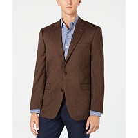 Tommy Hilfiger Mens TH Flex Stretch Herringbone Sport Coat