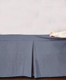 Microfiber Tailored Bed-Skirt  Abrasion Resistant, Quadruple Pleated