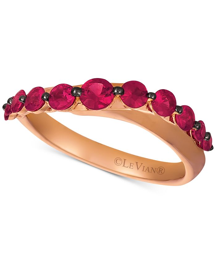 Le Vian - Ruby (7/8 ct. t.w.) Statement Ring in 14k Rose Gold