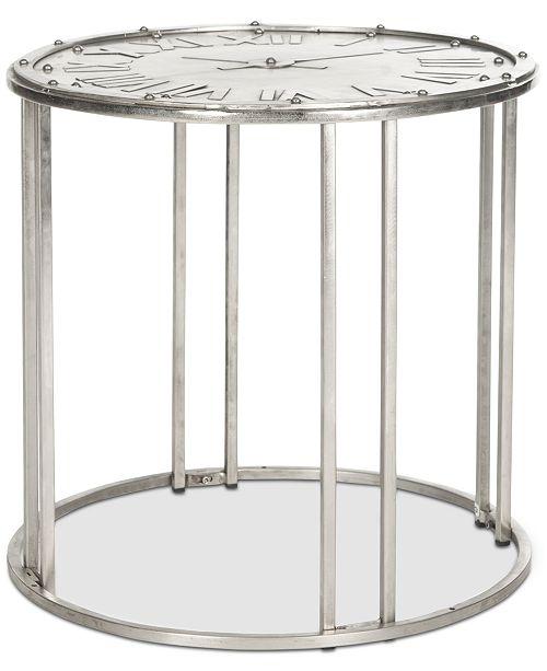 Safavieh Roman Clock End Table
