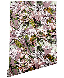 Deny Designs Marta Barragan Camarasa Blooming Wild Botanical Paradise Wallpaper