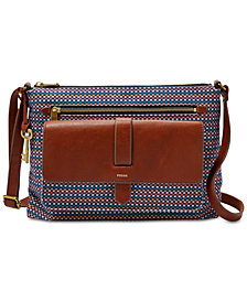 Fossil Kinley Medium Printed Crossbody