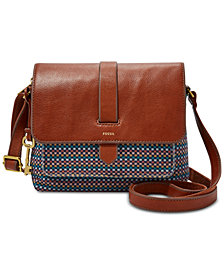 Fossil Kinley Small Fabric Crossbody