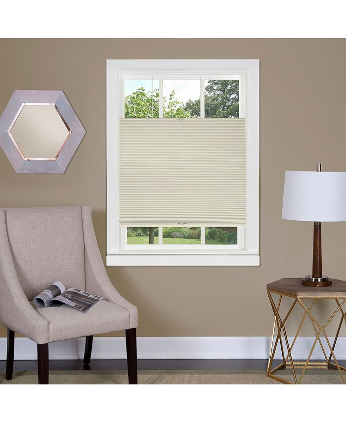 Achim - Top Down-Bottom Up Cordless Honeycomb Cellular Shade 27x64 White