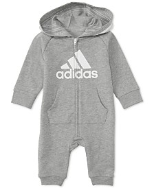 adidas Baby Boys 1-Pc. Footless Full-Zip Coverall
