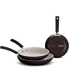 Tramontina Style Ceramic 3 Pack Fry Pans