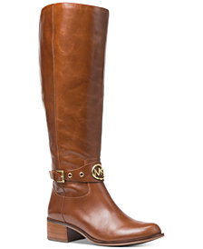 MICHAEL Michael Kors Heather Wide Calf Riding Boots