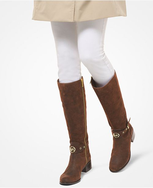 6121e9820ce Michael Kors Heather Riding Boots & Reviews - Boots - Shoes - Macy's