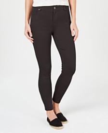 Style & Co Ultra-Skinny Ponté-Knit Pants, Created for Macy's