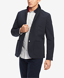 Tommy Hilfiger Men's Grid-Pattern Sport Coat