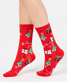 Charter Club Women's Gift Crew Socks, Created for Macy's