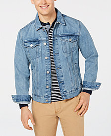 Tommy Hilfiger Men's Denim Logo Jacket, Created for Macy's