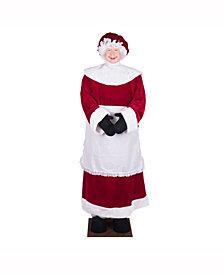 "5' 8"" Mrs Santa Standing or Sitting"