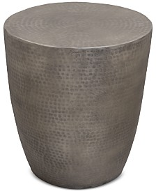 Nova Metal Drum End Table