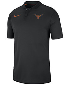 Nike Men's Texas Longhorns Elite Coaches Polo 2018