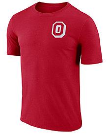 Nike Men's Ohio State Buckeyes Dri-FIT Cotton Stadium T-Shirt