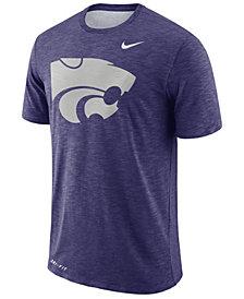 Nike Men's Kansas State Wildcats Dri-Fit Cotton Slub T-Shirt