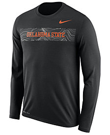 Nike Men's Oklahoma State Cowboys Legend Sideline Long Sleeve T-Shirt 2018