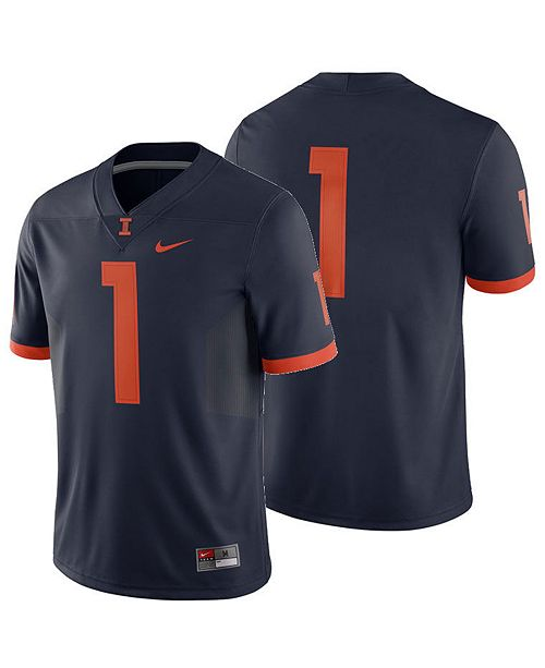 fa436bdd6b70 Nike. Men s Illinois Fighting Illini Football Replica Game Jersey. Be the  first to Write a Review.  100.00. main image  main image ...