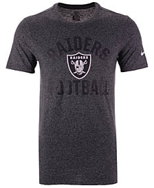 Nike Men's Oakland Raiders Marled Gym Arch T-Shirt