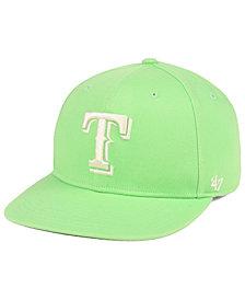 '47 Brand Texas Rangers Island Snapback Cap