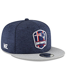 New Era Boys' New England Patriots Sideline Road 9FIFTY Cap