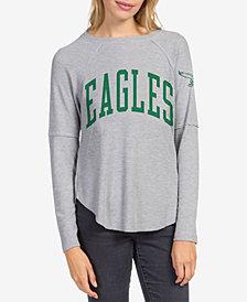 Junk Food Women's Philadelphia Eagles Thermal Long Sleeve T-Shirt