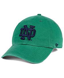 '47 Brand Notre Dame Fighting Irish CLEAN UP Strapback Cap