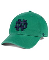47 Brand Notre Dame Fighting Irish CLEAN UP Strapback Cap 9dcd2be1f7f0