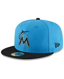 New Era Boys' Miami Marlins Players Weekend 59FIFTY FITTED Cap
