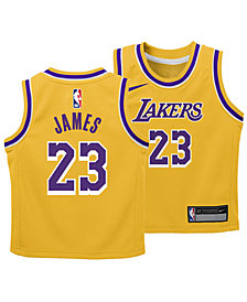 Nike LeBron James Los Angeles Lakers Icon Replica Jersey, Infants (12-24 Months)