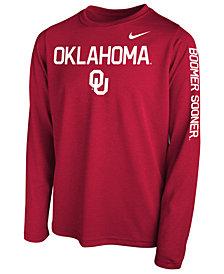 Nike Oklahoma Sooners Legend Long Sleeve T-Shirt, Big Boys (8-20)