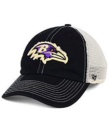 '47 Brand Baltimore Ravens Canyon Mesh CLEAN UP Cap