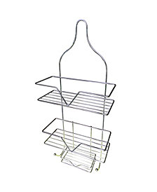 Hanging Shower Caddy with Soap Tray