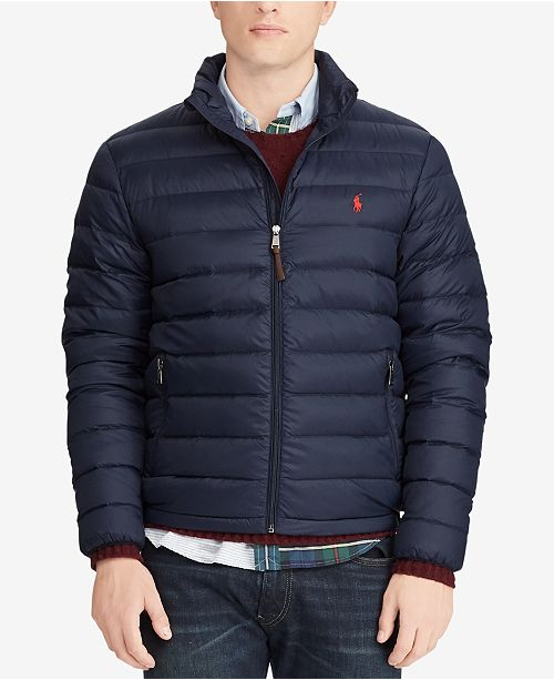 e285e9edd Polo Ralph Lauren Men's Big & Tall Packable Quilted Down Jacket ...