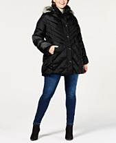 d646dbb7ea7 London Fog Plus Size Faux-Fur-Trim Hooded Quilted Coat. Quickview. 2 colors