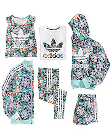 adidas Originals Big Girls Zoo-Print Collection
