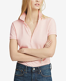 Polo Ralph Lauren Pink Pony Slim Fit Polo
