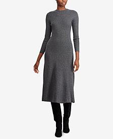 Polo Ralph Lauren Knit Fit & Flare Dress
