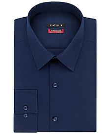 Van Heusen Men's Classic-Fit Wrinkle Free Flex Collar Stretch Solid Dress Shirt