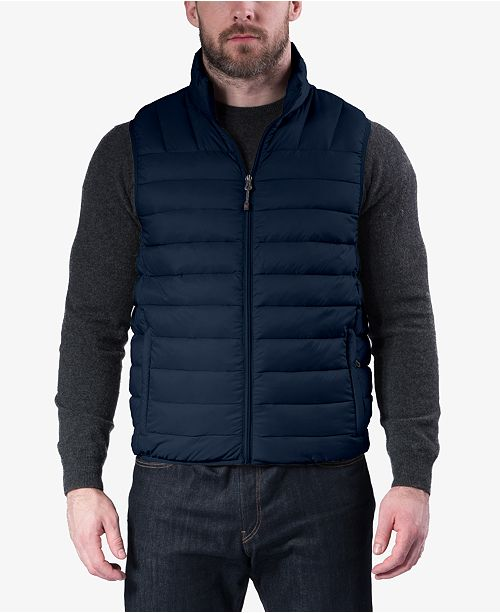 Club Room Hawke & Co. Outfitter Men's Packable Down Puffer Vest