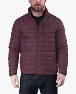 Hawke & Co. Outfitter Men's Packable Down Blend Puffer Jacket, Created For Macy's In Tx Pinot