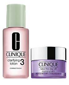 Choose your FREE Cleansing Duo with $65 Clinique purchase!