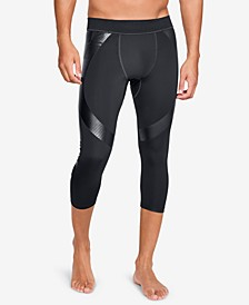 Men's Perpetual Compression Cropped Mesh Running Tights