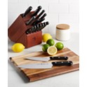 15-Piece J.A. Henckels International Solution Knife Block Set