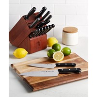 J.A. Henckels International Solution 15-Piece Knife Block Set