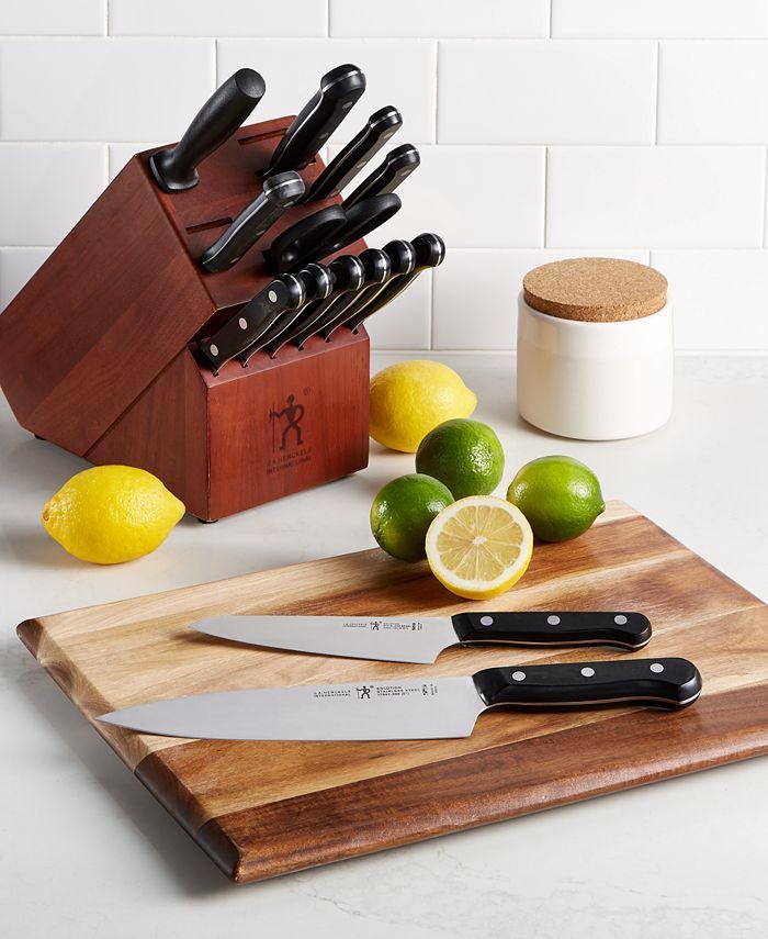 J.A. Henckels - International Solution 15-Pc. Knife Block Set
